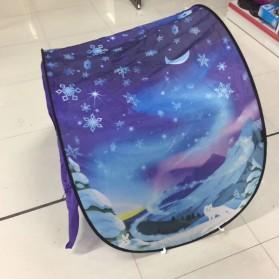 Dream Tents Tenda Bermain Anak Model Cartoon Snowy Kids Portable Tent - WJ3003 - Blue - 3