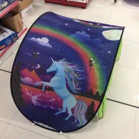 Dream Tents Tenda Bermain Anak Model Cartoon Snowy Kids Portable Tent - WJ3003 - Blue - 4