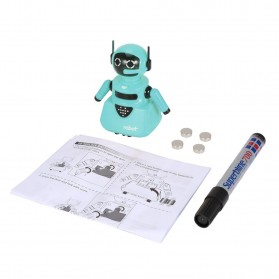 OCDAY Mainan Robot Magical Line Induction Toy - 3C - Blue
