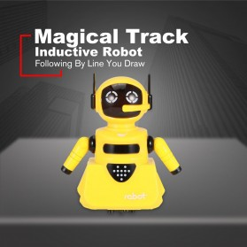 OCDAY Mainan Robot Magical Line Induction Toy - 3C - Blue - 2