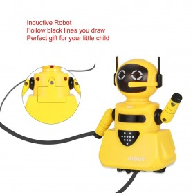 OCDAY Mainan Robot Magical Line Induction Toy - 3C - Blue - 4