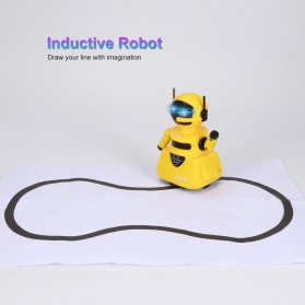 OCDAY Mainan Robot Magical Line Induction Toy - 3C - Blue - 5