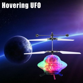 BERYOU Mainan Flying Ball Induction Launcher Model Hovering UFO - 188A - White - 2