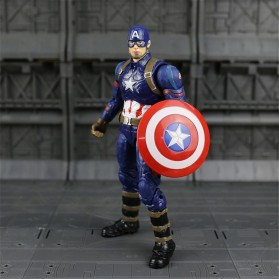 SUPERHERO Miniatur Action Figure Karakter Marvel Captain America Avenger Infinity War - N033