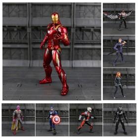 SUPERHERO Miniatur Action Figure Karakter Marvel Captain America Avenger Infinity War - N033 - 2