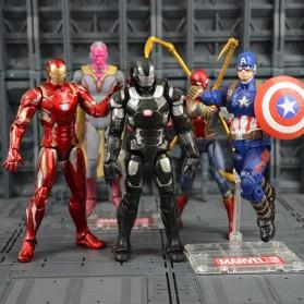 SUPERHERO Miniatur Action Figure Karakter Marvel Captain America Avenger Infinity War - N033 - 3