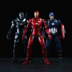 SUPERHERO Miniatur Action Figure Karakter Marvel Captain America Avenger Infinity War - N033 - 4