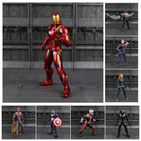 SUPERHERO Miniatur Action Figure Karakter Marvel Iron Man Avenger Infinity War - N033 - 2