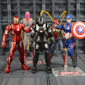 SUPERHERO Miniatur Action Figure Karakter Marvel Iron Man Avenger Infinity War - N033 - 3
