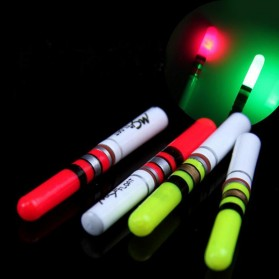 BYFA Pelampung Umpan Pancing LED Luminous Fishing MC Floats Lure Bait - L180 - Red - 1