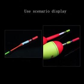 BYFA Pelampung Umpan Pancing LED Luminous Fishing MC Floats Lure Bait - L180 - Red - 3