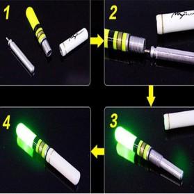 BYFA Pelampung Umpan Pancing LED Luminous Fishing MC Floats Lure Bait - L180 - Red - 4