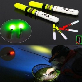 BYFA Pelampung Umpan Pancing LED Luminous Fishing MC Floats Lure Bait - L180 - Red - 6