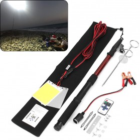 Smuxi Joran Pancing Telescopic Fishing Rod Lantern COB LED Light 3.75M - CL-LB-M9x2 - 2