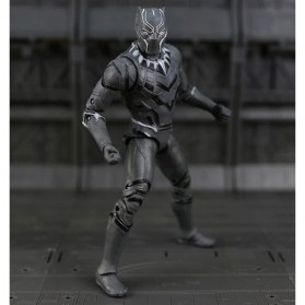 Apaffa Action Figure Marvel Avenger Model Black Panther - N033