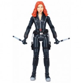Apaffa Action Figure Marvel Avenger Model Black Widow - N033