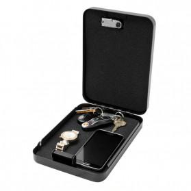 OPSON Brankas Mini Mobil Key Safes Portable Car Safesbox Gun Jewelry - OS300C - Black - 5