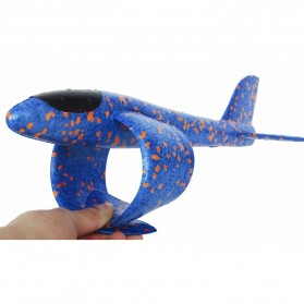 GOROCK Mainan Pesawat DIY Hand Throw Foam Aeroplane Flying Glider Planes - TY0310 - Mix Color - 6