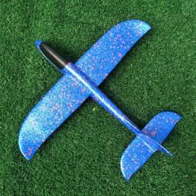 GOROCK Mainan Pesawat DIY Hand Throw Foam Aeroplane Flying Glider Planes - TY0310 - Mix Color - 9