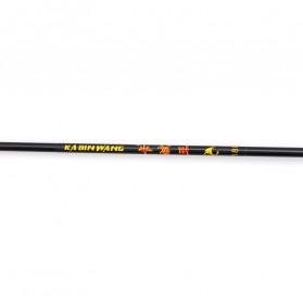 Makou Joran Pancing Gun Handle Carbon Wood 2 Segments 1.8M - KW01 - Black - 2