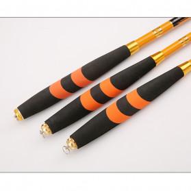 Zhanjiang Joran Pancing Carbon Fiber Fishing Rod 2.7 Meter - ZHN01 - Black - 3