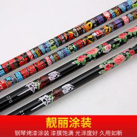 Zhanjiang Joran Pancing Carbon Fiber Fishing Rod 2.7 Meter - ZHN02 - Black - 7