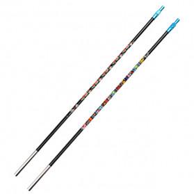 Zhanjiang Joran Pancing Carbon Fiber Fishing Rod 2.7 Meter - ZHN02 - Black - 9