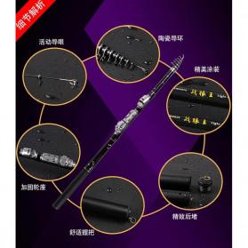 Zhenyi Joran Pancing Carbon Fiber Telescopic 1.8M - ZH03 - Black - 4