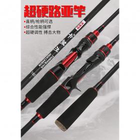 KBW Joran Pancing Gun Handle 2 Segments 2.4M - KBW01 - Black - 2