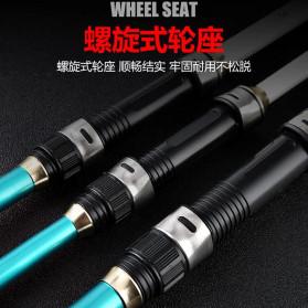 Zhenyi Joran Pancing Carbon Fiber Telescopic 2.7M - ZH06 - Black - 3