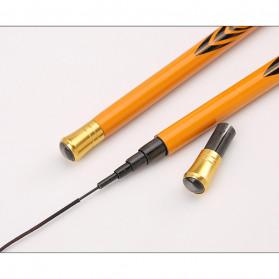 Zhanjiang Joran Pancing Carbon Fiber Fishing Rod 1.8 Meter - ZHN01 - Black - 4