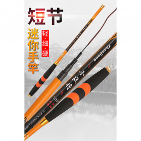 Zhanjiang Joran Pancing Carbon Fiber Fishing Rod 2.1 Meter - ZHN01 - Black - 9