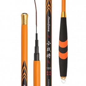 Zhanjiang Joran Pancing Carbon Fiber Fishing Rod 2.4 Meter - ZHN01 - Black