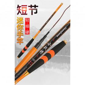 Zhanjiang Joran Pancing Carbon Fiber Fishing Rod 2.4 Meter - ZHN01 - Black - 9