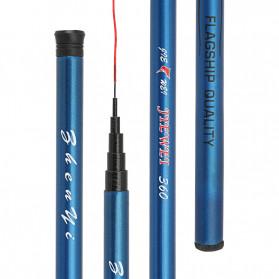 JIEWEI Joran Pancing Fiberglass Fishing Rod 3.6 Meter - JW360 - Blue