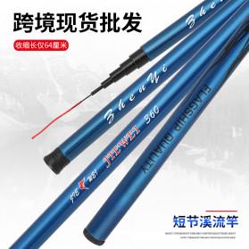 JIEWEI Joran Pancing Fiberglass Fishing Rod 3.6 Meter - JW360 - Blue - 6