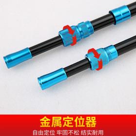 Zhanjiang Joran Pancing Carbon Fiber Fishing Rod 2.4 Meter - ZHN02 - Black - 6