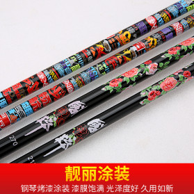 Zhanjiang Joran Pancing Carbon Fiber Fishing Rod 2.4 Meter - ZHN02 - Black - 7