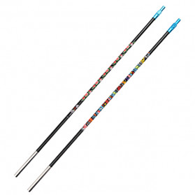 Zhanjiang Joran Pancing Carbon Fiber Fishing Rod 2.4 Meter - ZHN02 - Black - 9