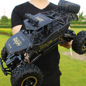 Rock Crawler Monster Truck Bigfoot RC Remote Control 1:12 4WD 2.4GHz - XY-6255 - Black