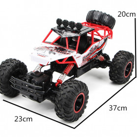 Rock Crawler Monster Truck Bigfoot RC Remote Control 1:12 4WD 2.4GHz - XY-6255 - Black - 8