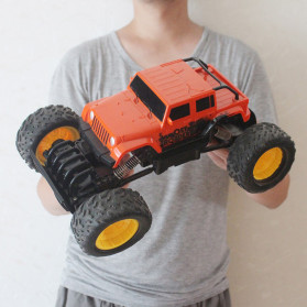 Rock Crawler Monster Truck Bigfoot RC Remote Control 4WD 2.4GHz - 5190 - Red - 7