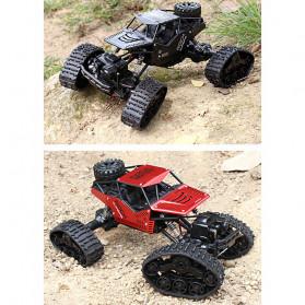 Rock Crawler Military Truck Bigfoot RC Remote Control 4WD 2.4GHz - 5200 - Black - 8