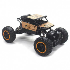 Rock Crawler Monster Truck Bigfoot RC Remote Control 4WD 2.4GHz - 5198 - Black Gold