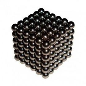 Mainan Edukasi - MINOCOOL Mainan Magnetic Stick Bucky Balls Steel 3MM - TH007005A - Silver