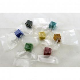 MINOCOOL Mainan Magnetic Stick Bucky Balls Steel 3MM - TH007005A - Silver - 2