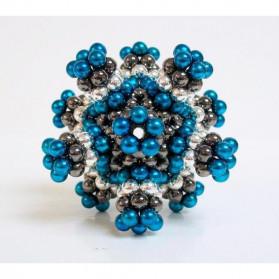 MINOCOOL Mainan Magnetic Stick Bucky Balls Steel 3MM - TH007005A - Silver - 6
