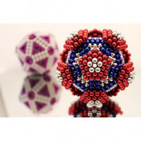 MINOCOOL Mainan Magnetic Stick Bucky Balls Steel 5MM - TH007005A - Multi-Color - 7