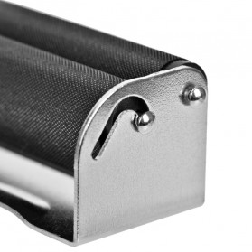 HONEYPUFF Alat Penggulung Linting Rokok Manual Tobacco Roller Machine 110mm - QQ001 - Black - 4