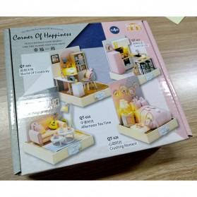 CUTEBEE Miniatur Rumah Boneka Cute Doll Room 3D DIY - QT-025 - White - 6